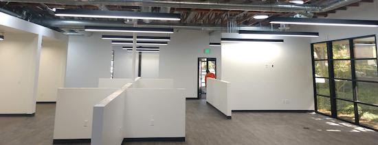 photo of a recent office redesign from ANDERSON