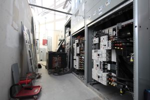 electrical service upgraded