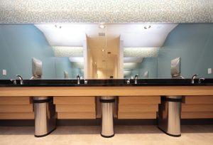 photo 4 of restroom improvements