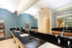 Downstairs mens restrooms