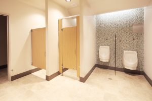 photo 5 of restroom improvements