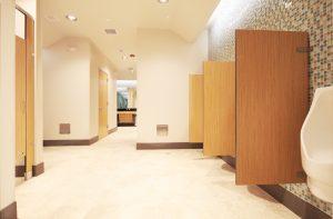 photo 2 of restroom improvements