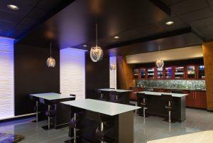 Break area coffee bar